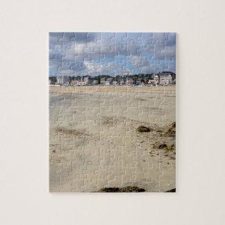 フランスの聖者鋳造物leGuildoのビーチ ジグソーパズル