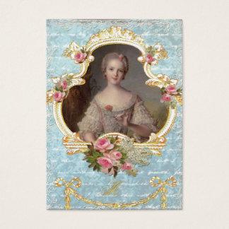 フランスの若いプリンセスルイーズMarie 名刺