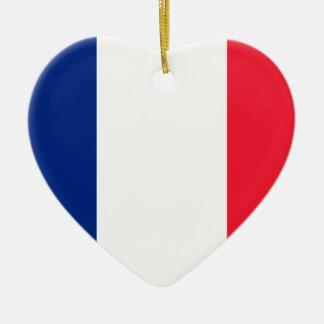 フランスのPavillon deのlaのフランスの旗 セラミックオーナメント