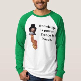 フランスはベーコンです Tシャツ