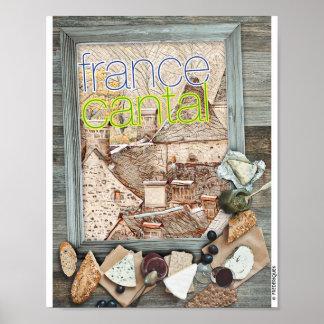 フランスカンタル ポスター