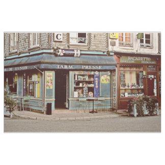 フランスノルマンディーのヴィンテージのタバコ店及びワインバー ファブリック