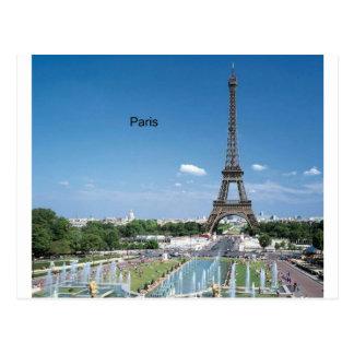 フランスパリエッフェル塔(St.K)によって ポストカード