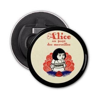 フランス人のアリスの表紙 栓抜き
