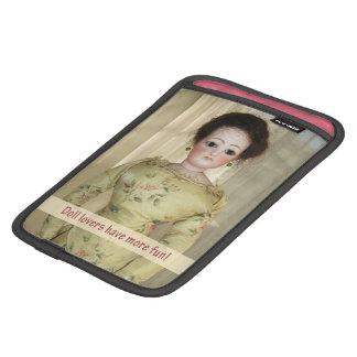 フランス人のファッションの人形のiPad Miniスリーブ- Customizabl iPad Miniスリーブ