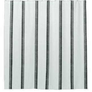 フランス人の供給袋ストライプのスタイルのシャワー・カーテン シャワーカーテン
