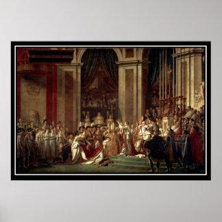フランス人の皇帝としてナポレオンの即位 ポスター