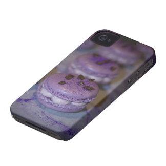 フランス人のMacaronの紫色のiPhoneの保護場合 Case-Mate iPhone 4 ケース