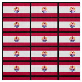 フランス人のPolenysiaの旗 ファブリック