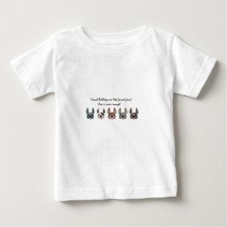 フランス人はフライドポテトのコレクションのようです ベビーTシャツ