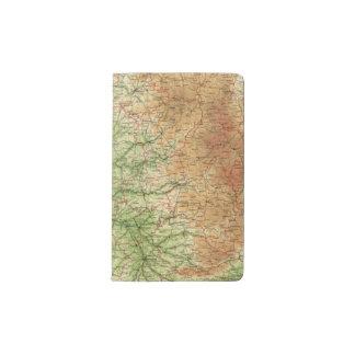 フランス南西セクションボルドー ポケットMoleskineノートブック