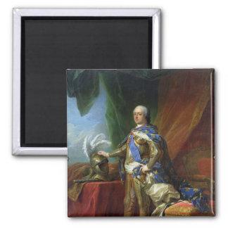 フランス及びナバール1750年のルイXV王 マグネット