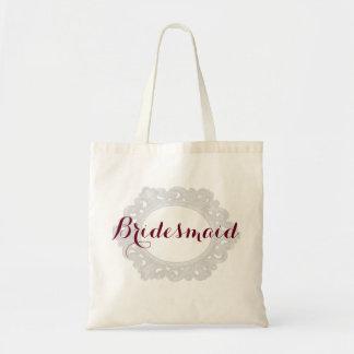 フランス語によってスタイルを作られる新婦付添人のバッグ トートバッグ