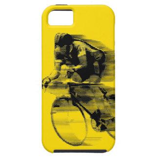 フランス語は黄色いジャージーを旅行します iPhone SE/5/5s ケース