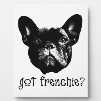フランス語Bulle フォトプラーク