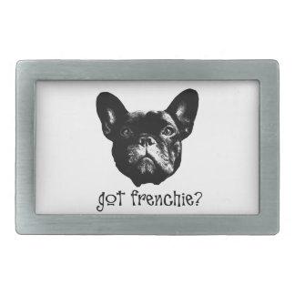 フランス語Bulle 長方形ベルトバックル