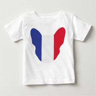 フランス語Frenchie ベビーTシャツ