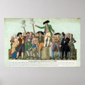 フランス革命の始め ポスター