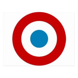 フランス革命RoundelフランスCocarde Tricolore ポストカード