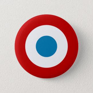 フランス革命RoundelフランスCocarde Tricolore 5.7cm 丸型バッジ