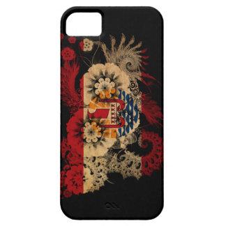 フランス領ポリネシアの旗 iPhone SE/5/5s ケース