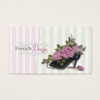 フランス風の名刺 名刺