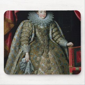 フランス1615年のElisabethのポートレート マウスパッド