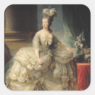 フランス1779年のMarieアントワネットの女王 スクエアシール