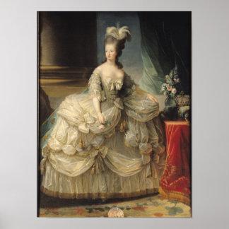 フランス1779年のMarieアントワネットの女王 ポスター