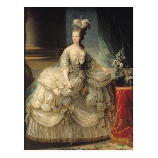 フランス1779年のMarieアントワネットの女王 ポストカード