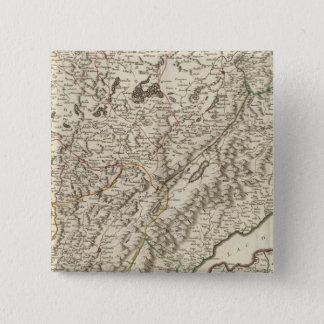 フランス8 5.1CM 正方形バッジ