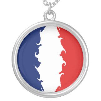 フランス|すごい|旗 パーソナライズネックレス