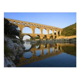 フランス、アビニョン。 Pont DUガードのローマの水路 ポストカード