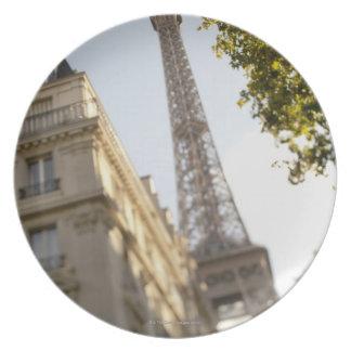 フランス、パリのエッフェル塔2 プレート