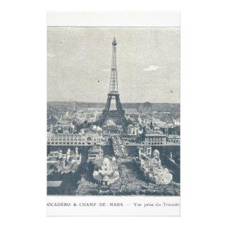 フランス、パリの博覧会1900年 便箋