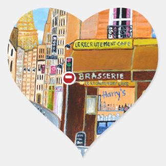 フランス、パリの通りドミニック ハートシール