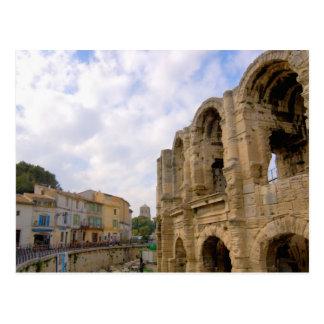 フランス、Arles、プロバンスのローマの円形競技場 ポストカード