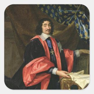 フランス、c.1668のピエールSeguierの一等書記官 スクエアシール