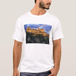 フランス、PACA、ボークリューズの日没の村 Tシャツ