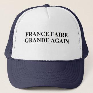 フランスFaireのグランデ再度chapeau/帽子 キャップ