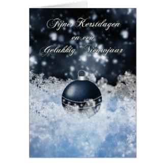 フランダースのクリスマスカード- Fijneのkerstdagen カード