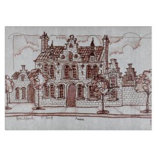 フランダースの建築| Bailleul、フランス カッティングボード