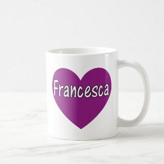 フランチェスカ コーヒーマグカップ
