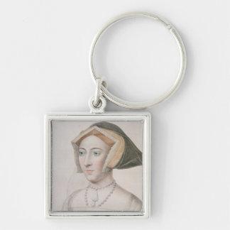 フランチェスコのバー刻まれるジェーン・シーモア(c.1509-37) キーホルダー