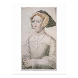フランチェスコのバー刻まれるジェーン・シーモア(c.1509-37) ポストカード