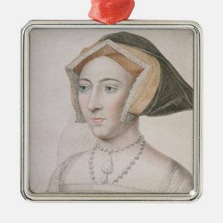 フランチェスコのバー刻まれるジェーン・シーモア(c.1509-37) メタルオーナメント