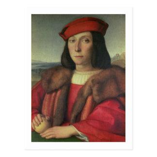 フランチェスコのdella Rovereウルビノの公爵の、ポートレート ポストカード