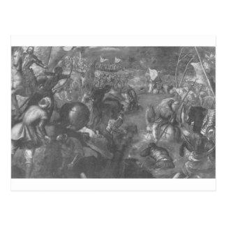 フランチェスコチャールズに対してII Gonzaga VIII ポストカード