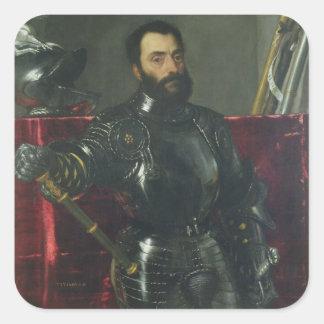 フランチェスコマリアDella Rovereの公爵、ポートレートの スクエアシール