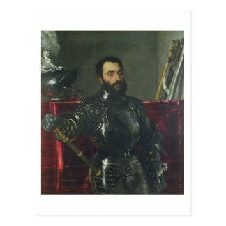 フランチェスコマリアDella Rovereの公爵、ポートレートの ポストカード